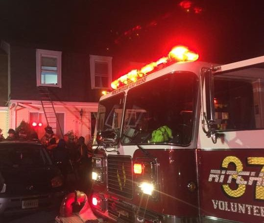 Engine Runs 26 Townhouse Fire