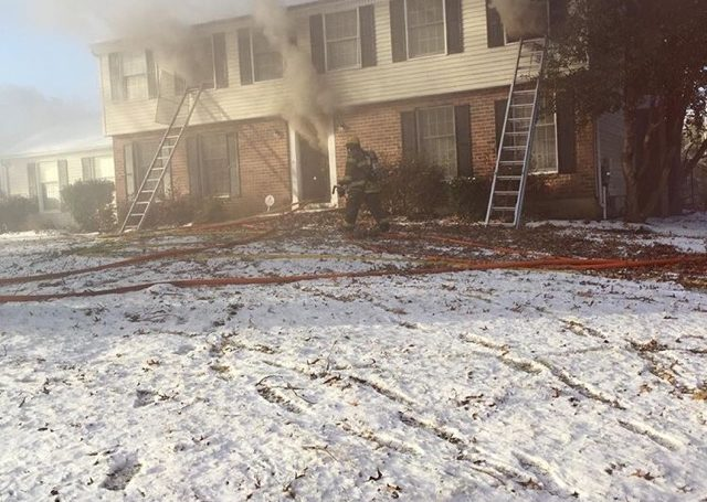 Engine Co.37 Runs 45 House Fire