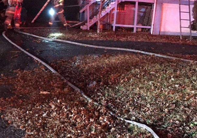 Engine Co.37 Runs First Due House Fire