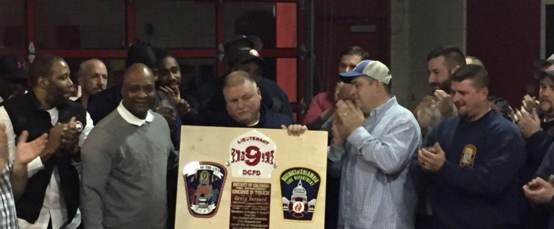 DCFD Retirement Of Lt. Greig Bernard