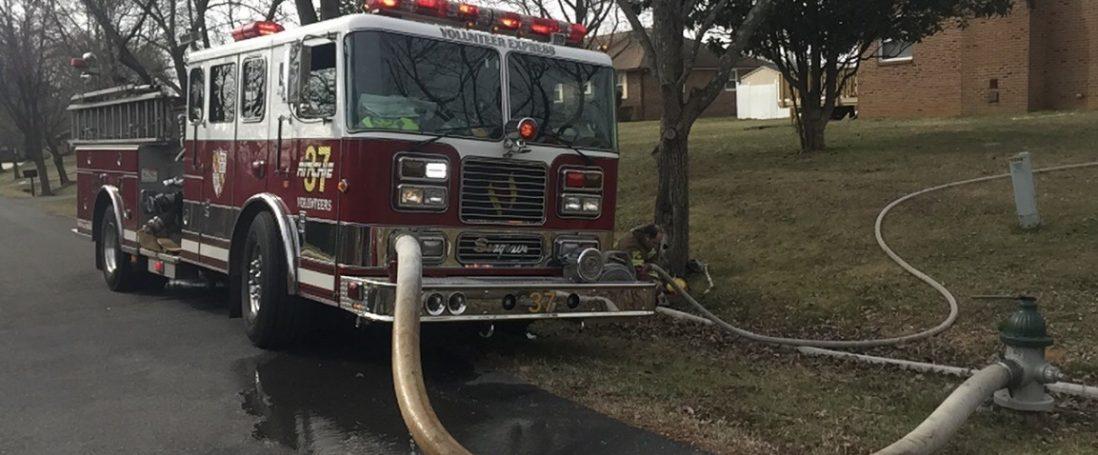 Engine Co. Runs 46 House Fire