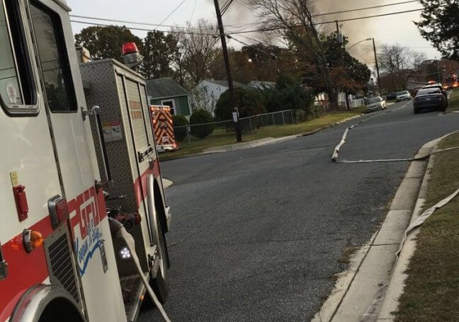 Engine Co. Runs 23 Garage Fire